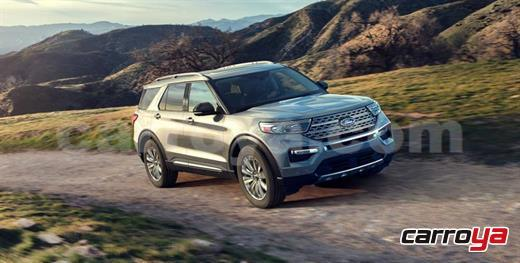 Ford Explorer XLT 2.3 Turbo 2020